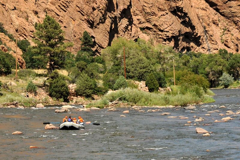 introductory whitewater trips for families