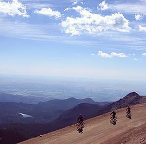 Bike Pikes Peak