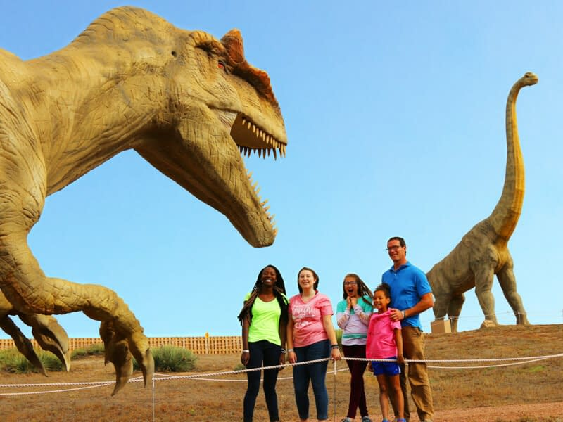 dinosaur experience attraction