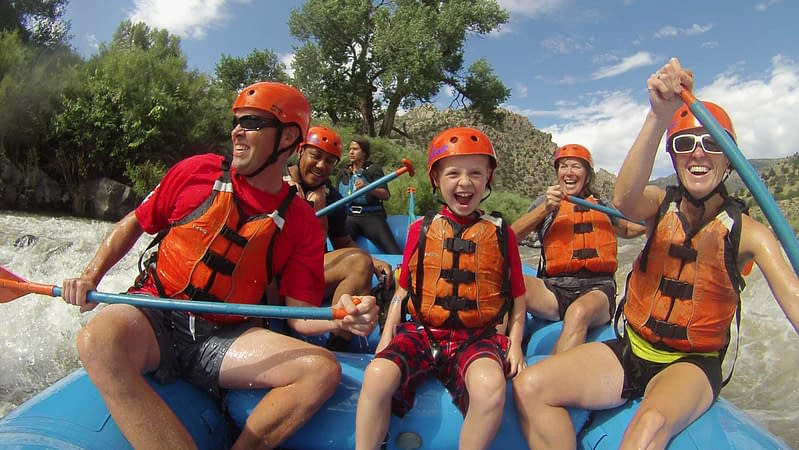 family fun on Bighorn Sheep Canyon