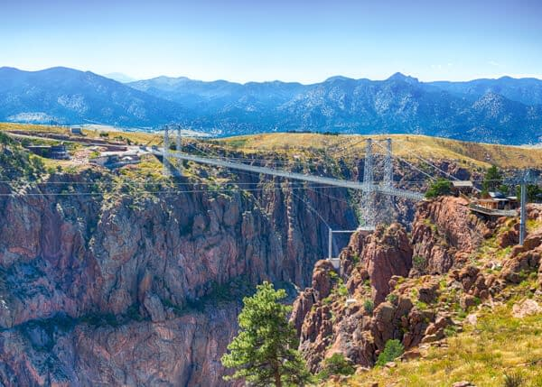 Incredible Royal Gorge Bridge over the Arkansas River