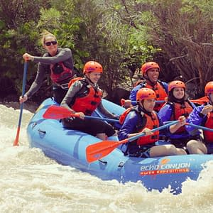 Raft Guid Training with Echo Canyon River Expeditions