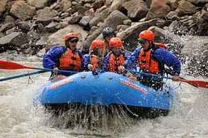 big whitewater fun for families and first time rafters