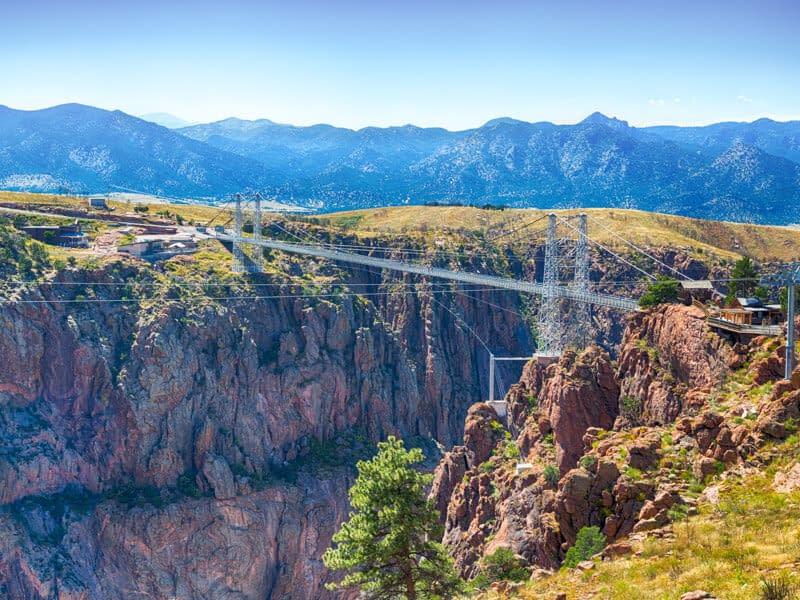 royal gorge bridge view