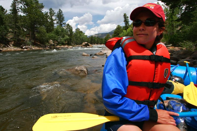 rafting the Numbers section of the Arkansas River