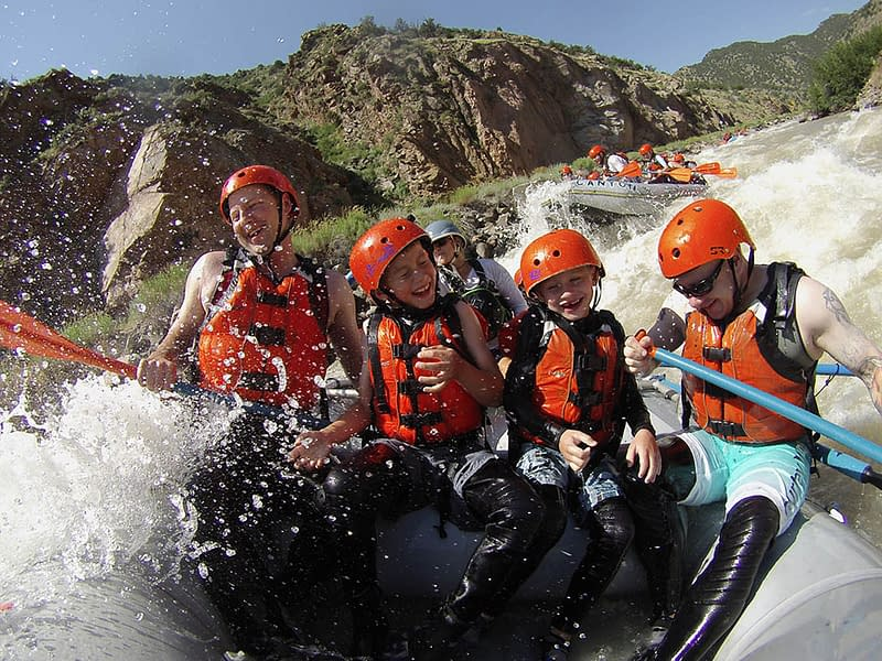 Bighorn Sheep Canyon family raft trip