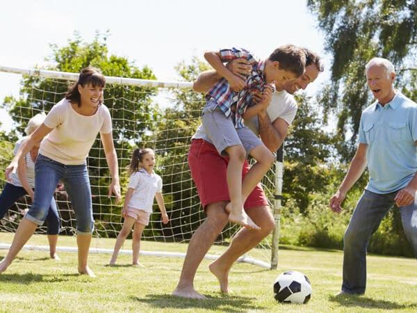 multi-generation soccer game