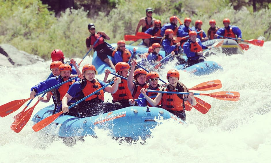 adventure rafting in the Royal Gorge