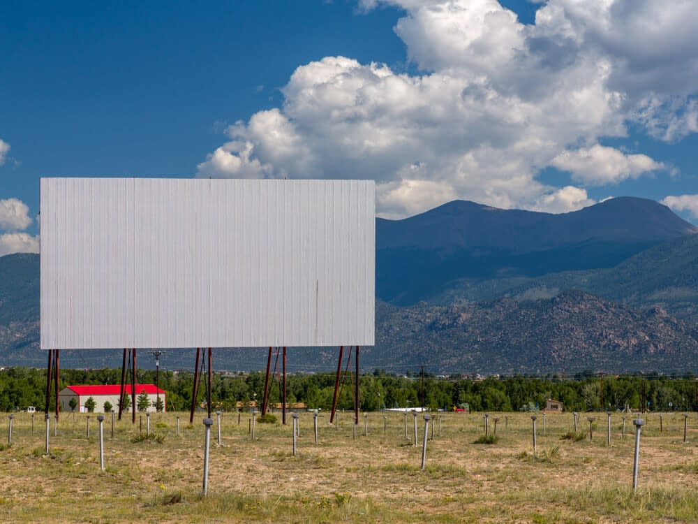 Colorado drive-in theater