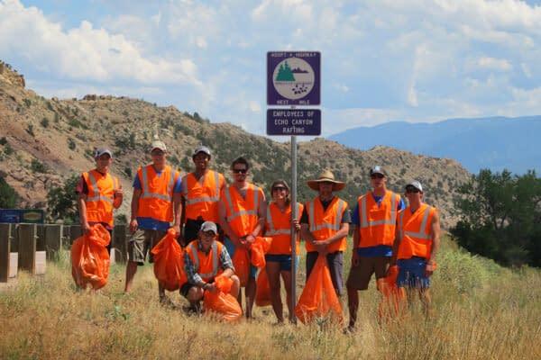 Volunteer to clean up highways