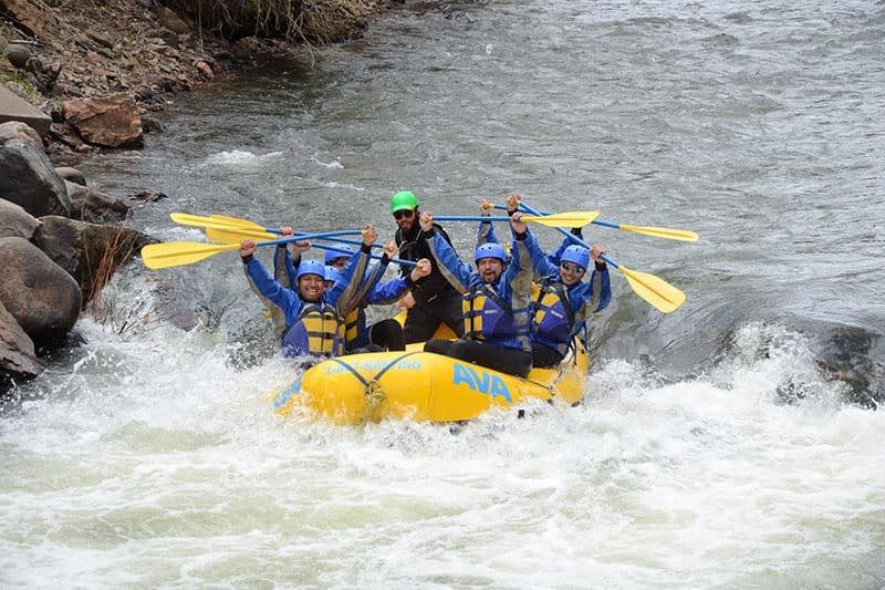 Clear Creek rafting for beginners and advanced paddlers