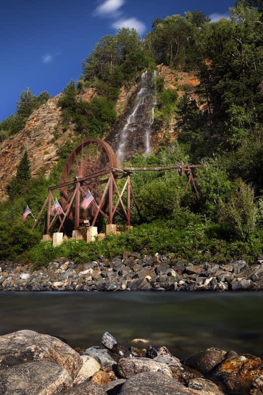 Water wheel near Idaho Springs