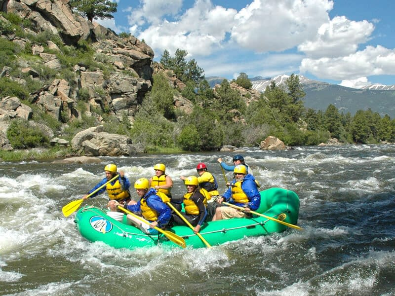 browns canyon rafting trip