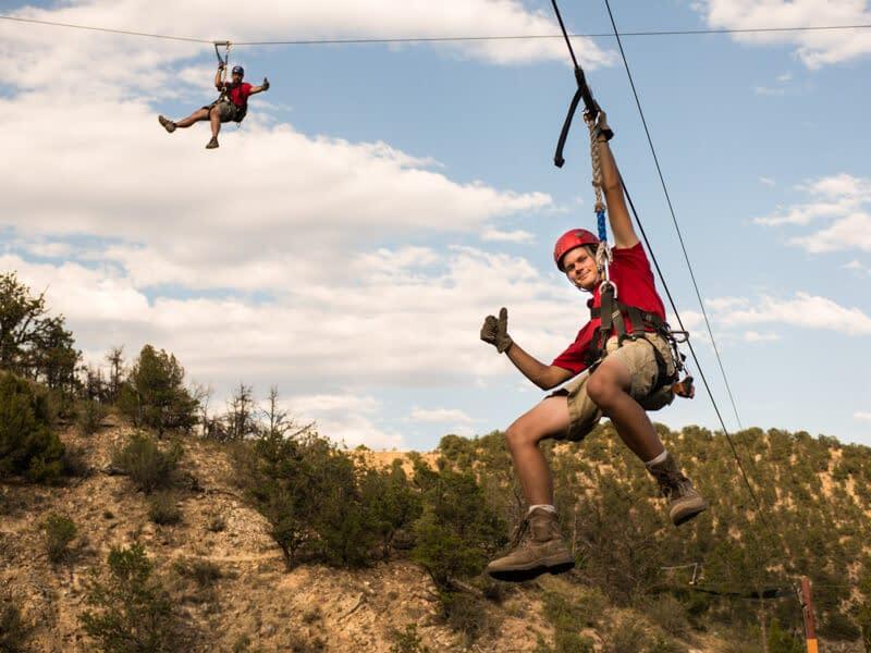 zip line tours near colorado springs