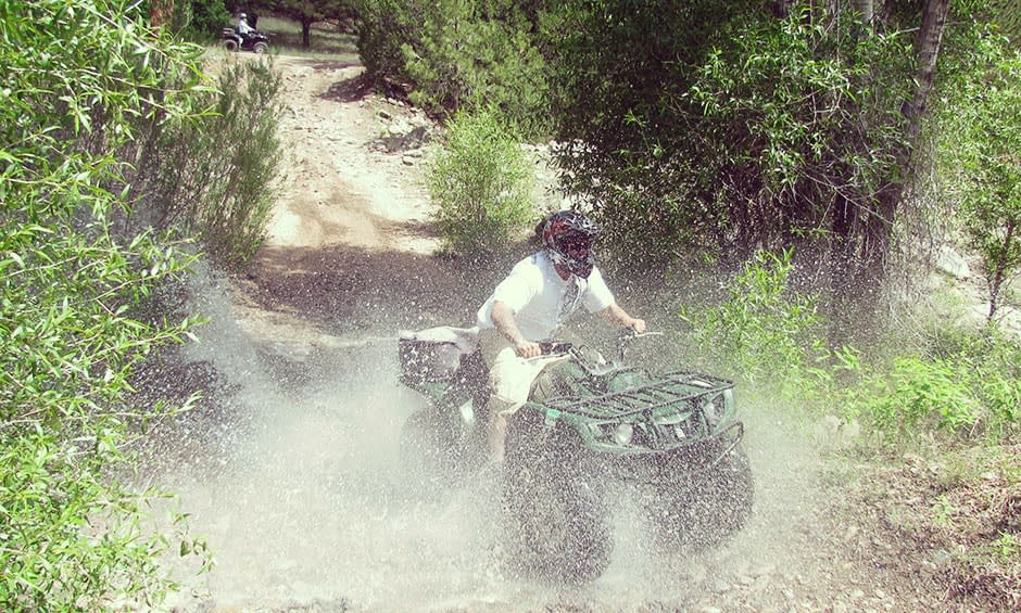 Echo Canyon's Colorado ATV and rafting adventure package