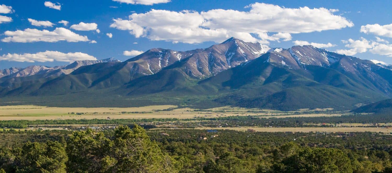 Collegiate Peaks in the Sawatch Range