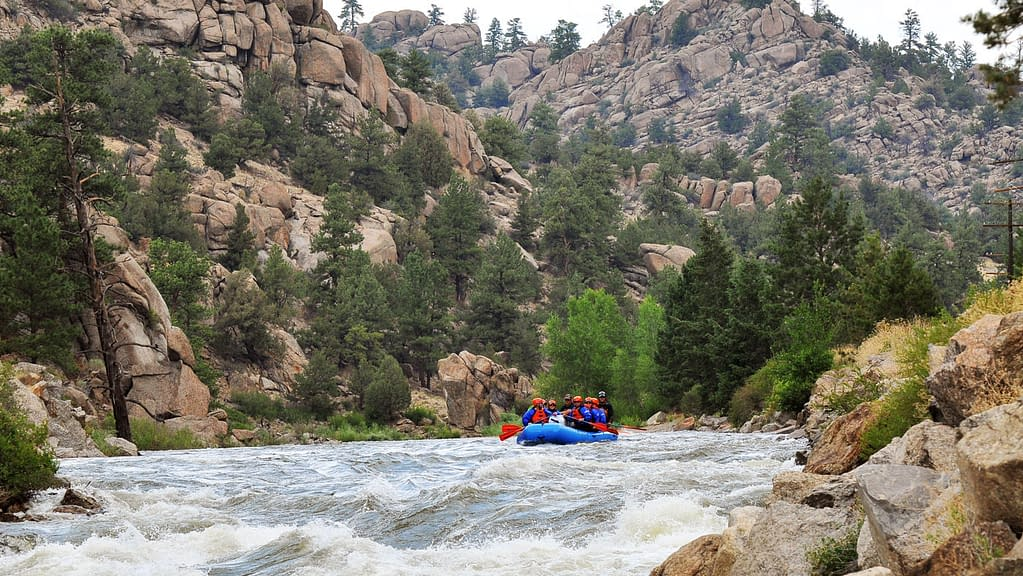multi day rafting with Echo Canyon