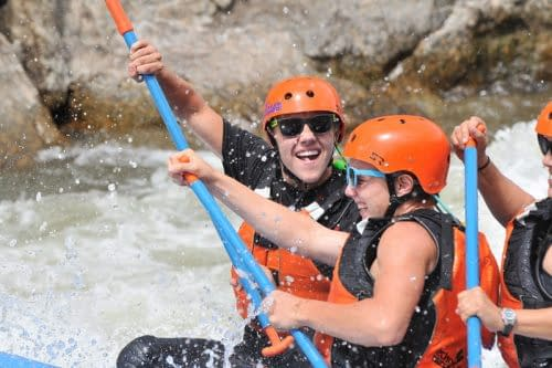 whitewater fun at Echo Canyon