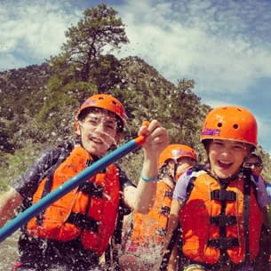 White water rafting gift certificates available at Echo Canyon River Expeditions