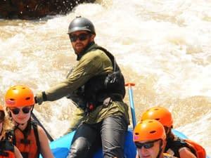 Raft Guide Burke