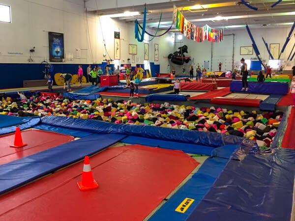 trampoline gym