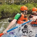 whitewater rafting water flows Arkansas river