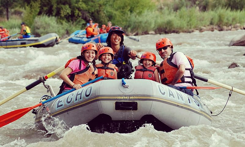 Bighorn Sheep Canyon rafting near Colorado Springs