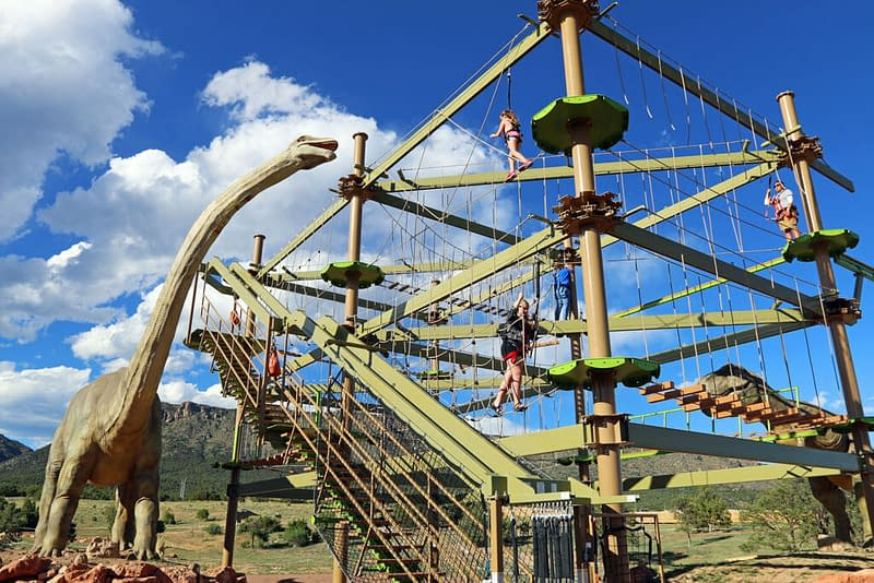 Dinosaur Experience Ropes Course