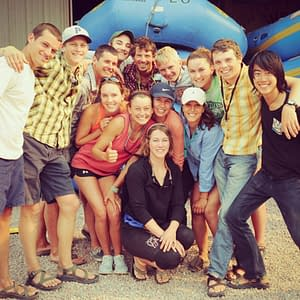 White water rafting guide jobs create lasting bonds.