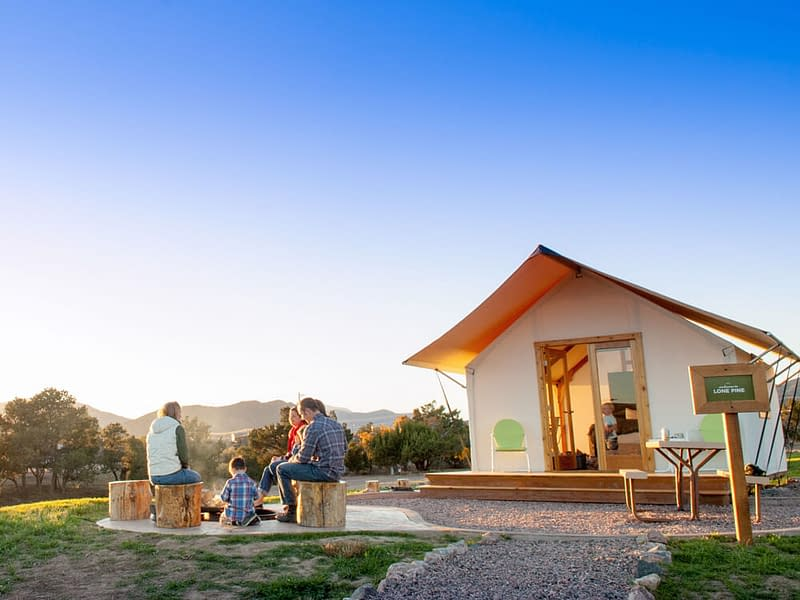 Family Glamping at Echo Canyon