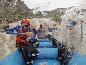 white water rafting, royal gorge rafting