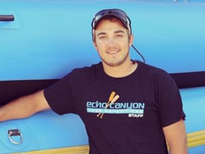 Echo Canyon Raft Guide Mike