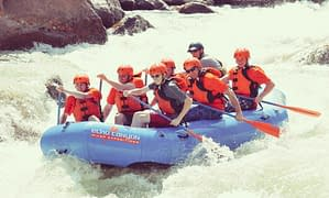 scouts rafting Royal Gorge with Echo Canyon River Expeditions
