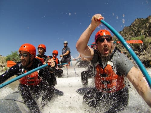 June is the best month for big white water