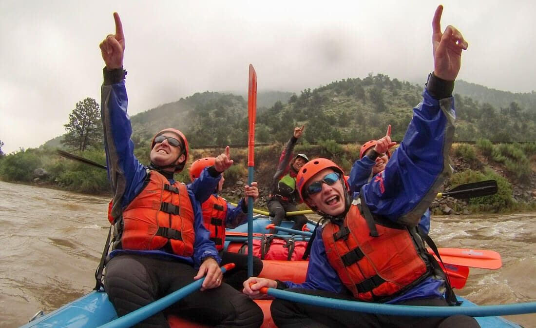 Rafting in the Rain with Echo Canyon