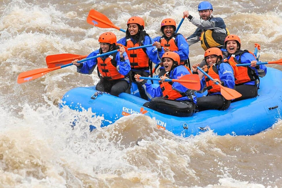 ladies raft trip - bachelorette party