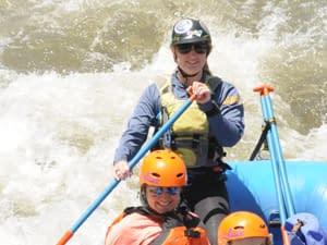 Raft Guide Pam