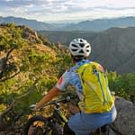 Mountain biking the Royal Gorge Region in Colorado