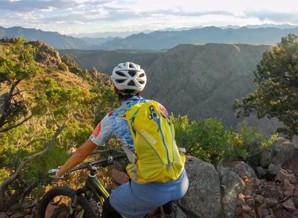 Mountain biking the Royal Gorge Region in Colorado