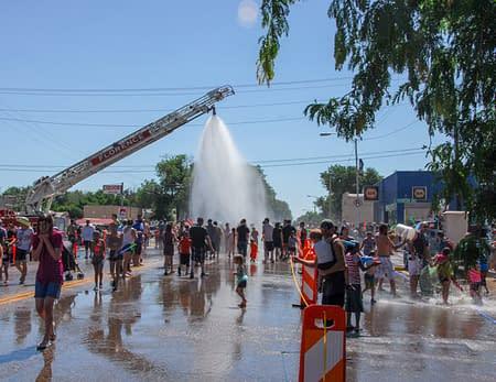 Wet Dry Parade - Florence Colorado