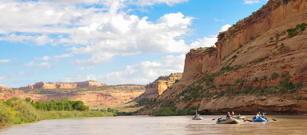 Colorado River multi-day raft trip