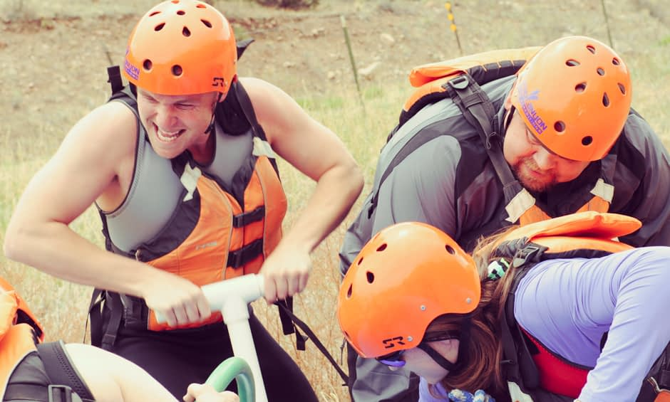 Start Pumping - Echo Canyon's Signature Team Building Experience - Battle of the Bighorn