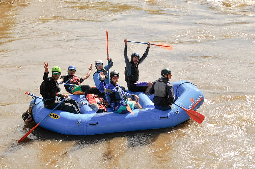 Whitewater Rafting Guides