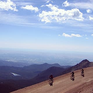 Bike Pikes Peak