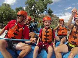 family fun on Bighorn Sheep Canyon