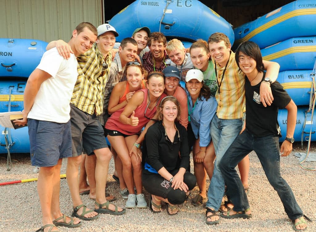 Guide training classes become friends for life