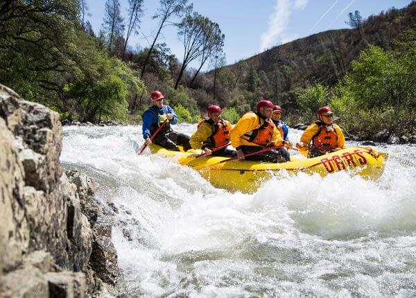 Rafting the Tuolumne River