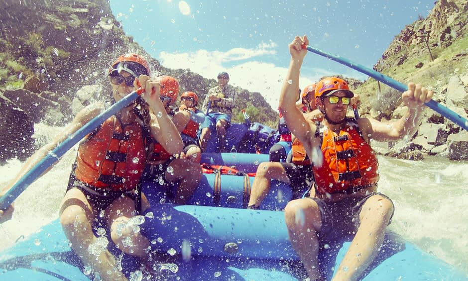 Arkansas River rafting Colorado at it's best with Echo Canyon