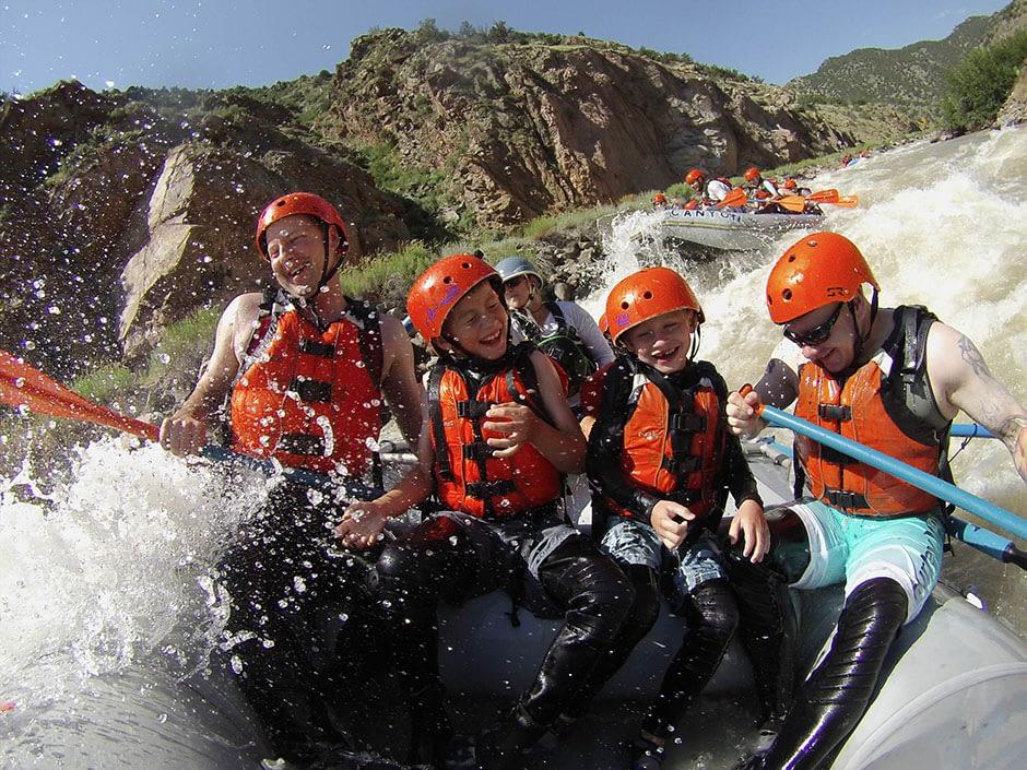 Bighorn Sheep Canyon family raft trip