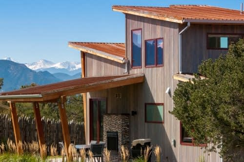 mountain views from luxury cabins